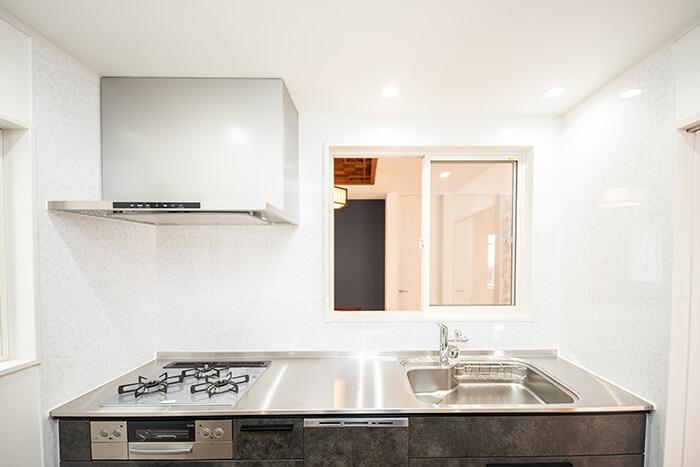 美しいデザインのキッチン